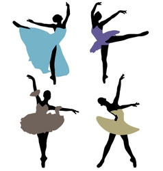 Ballerinas 2 vector