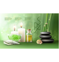 For spa treatments vector