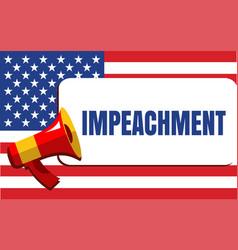 Impeachment word vector