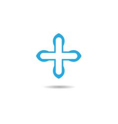 medical icon design vector image
