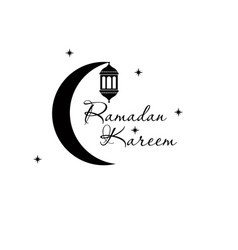 ramadan kareem islamic design crescent moon and vector image