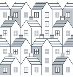 Realty pattern and backdrop vector image