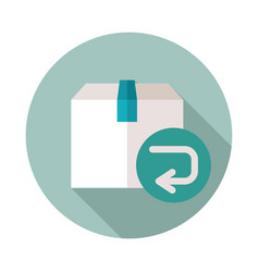 Return purchase icon vector