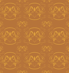 seamless classical ornament vector image vector image