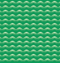 Green abstract pattern with shiny waves vector image vector image