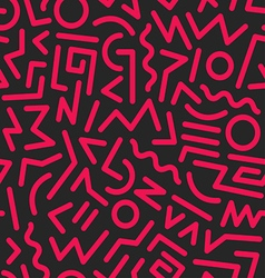 seamless background 80s37 vector image vector image