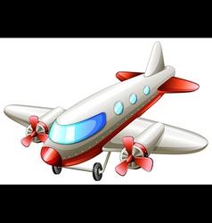A vintage plane vector image