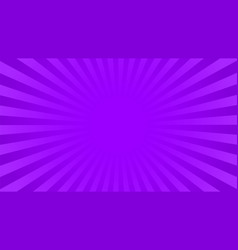Bright violet rays background vector