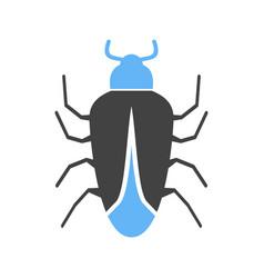 Bug ii icon vector