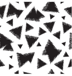 Infinite background with triangles vector