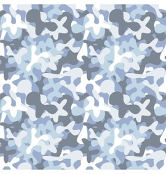 Military camouflage seamless pattern to disguise vector