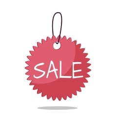 Sale Tag in Flat Design vector