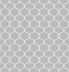 seamless circular geometric figures vector image