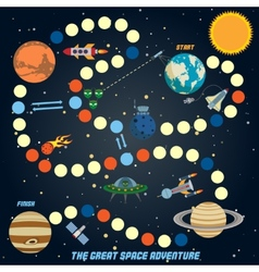 Space quest game vector