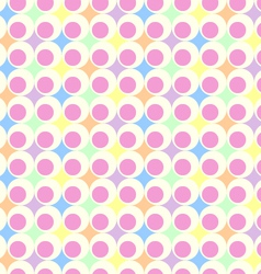Retro pastel background vector