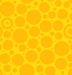 Yellow Circle Pattern vector image vector image