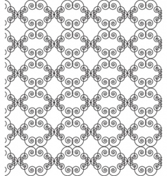 filigree motif vector image vector image