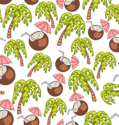 Summer Endless Seamless Pattern vector image vector image