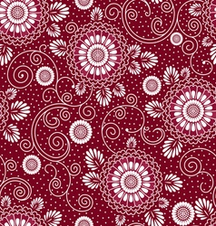 japan floral pattern vector image vector image