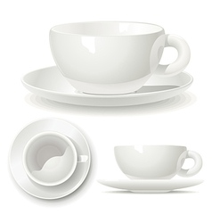 Small coffee cup vector image