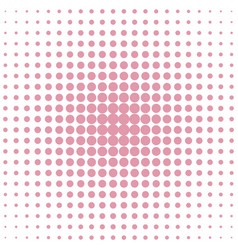geometric halftone dot pattern background from vector image vector image