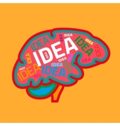 Creative Brain vector