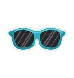 Glasses icon Summer design graphic vector
