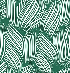 green abstract seamless background striped vector image