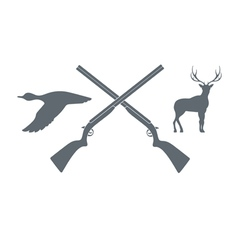 Hunt icon vector