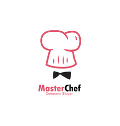 master chef logo vector image