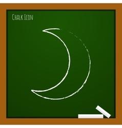 Moon icon Eps10 vector