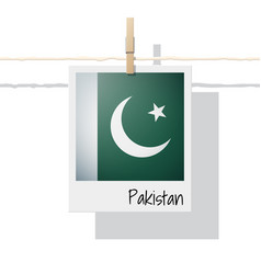 Photo of pakistan flag vector