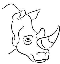 Rhinoceros vector