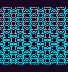 seamless pattern ornament of lines and curls vector image