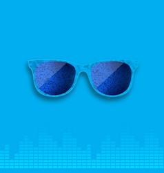 Sunglasses background accessory vector