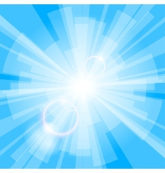 Blue Light Background vector image vector image