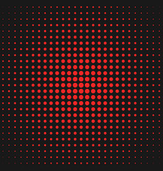 abstract geometric halftone circle pattern vector image vector image