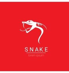 Snake simple logo design element vector