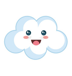 Beautiful cloud baby vector
