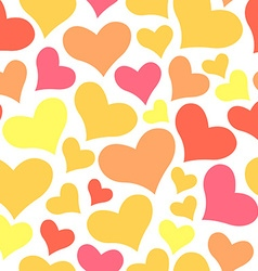 Color sweet All Lovers Day Valentine pattern vector image