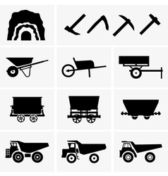 Mining tools and transport vector