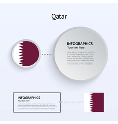 Qatar Country Set of Banners vector image