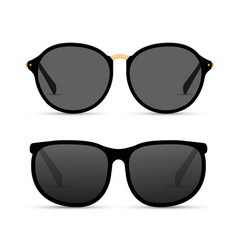 Sun glasses isolated summer vector