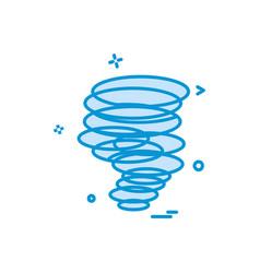 twister icon design vector image
