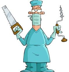 surgeon vector image vector image