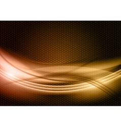 abstract background gold color vector image