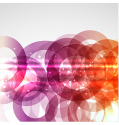 abstract circles 0207 vector image