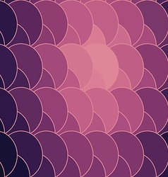 abstract geometry circle backdrop vector image