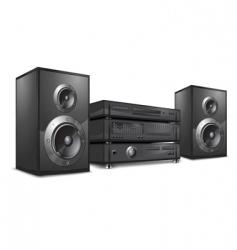 audio system hi-fi vector image