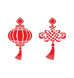 chinese symbols vector image